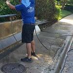Fannin Pressure Washing Railing