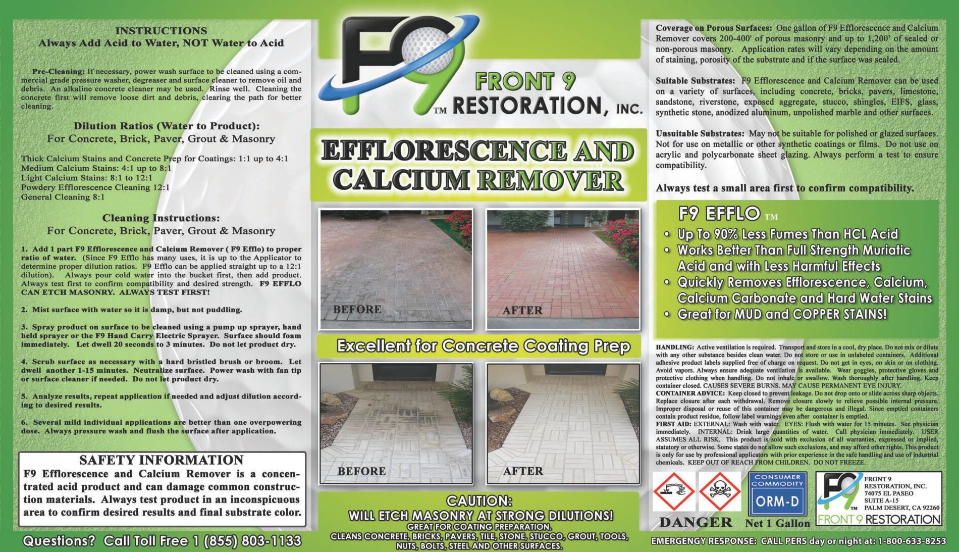 Label Image F9 Efflo