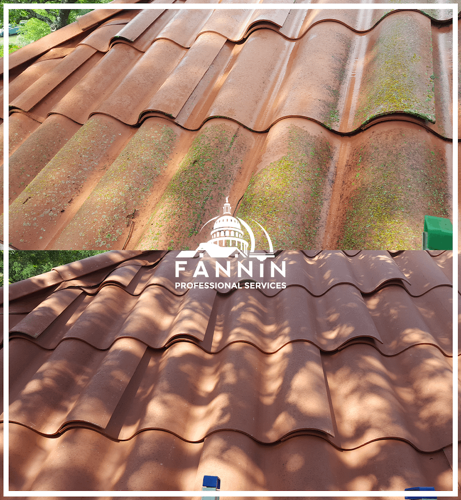 Before+After_Roof-Lichen